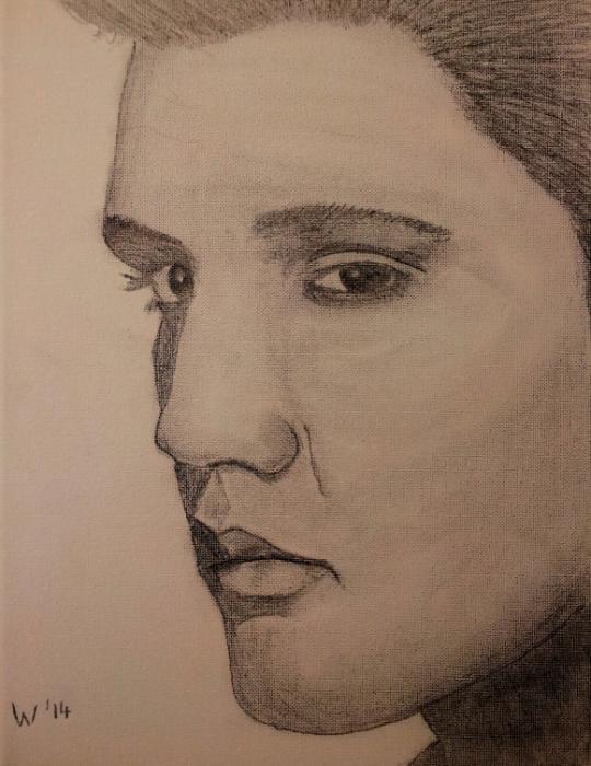 Elvis Presley par dutch036